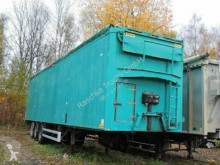 Samro moving floor semi-trailer Soccari *walkingfloor* Hydraulisches Dach