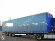 Krone Pritsche/Plane * Mega* semi-trailer used tarp