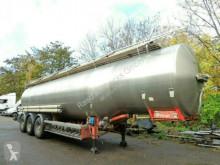 Félpótkocsi Magyar Edelstahl Inox *39.520 Liter *ADR 08.2021* használt tartálykocsi