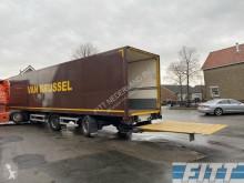 Renders ROC 12.20 gesloten oplegger, klep, 2x stuuras semi-trailer used box
