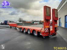 Kässbohrer heavy equipment transport semi-trailer SLA 4 Low-bed