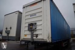 Fruehauf tautliner semi-trailer Tautlner Hayon 3 essieux dont 1 relevable