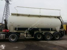Semitrailer Spitzer 34 m³ renforcée basculante tank pulverformig begagnad