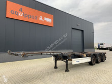 Semirremolque Krone 40FT HC, discbrakes, extendable at the rear, NL-chassis, APK: 16-11-2021 usado