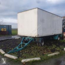 Remolque Gesloten aanhangwagen furgón usado