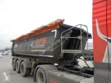 Fliegl tipper semi-trailer 25 cbm Stahl halbrund, SAF Scheibe, Lift