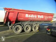 Semitrailer Langendorf 25 cbm Stahlkipper, Lift, Gummidichtung flak begagnad