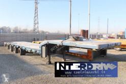Semitrailer maskinbärare Nooteboom carrellone allungabile 4 assi usato