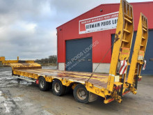 Castera Porte engin 3 essieux semi-trailer used heavy equipment transport
