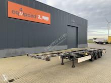 Krone 40FT HC, Scheibebremsen, Leergewicht: 5.060kg, hinten-ausziehbar semi-trailer used