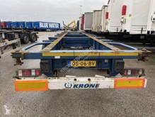 Semi remorque Krone SD porte containers occasion