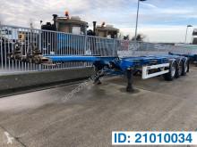 Semitrailer Van Hool Polyvalent skelet 20-30-40-45 ft containertransport begagnad