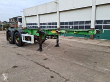 Krone Container chassis 20ft. semi-trailer used container