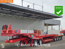 Scheuerle heavy equipment transport semi-trailer SMDELTP 2+5 Pest Pendelaxles 108.000kg GVW +Extra Bed
