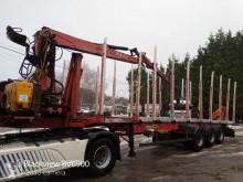 Semirimorchio trasporto tronchi Billaud S3D36G