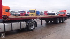 Полуприцеп Fruehauf STEEL SUSPENSION / SUPENSION LAMES / AXLES платформа б/у