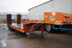 Trailer Robuste Kaiser Porte Engins 2 Essieux tweedehands dieplader
