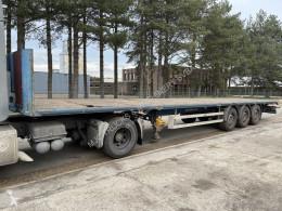 Kässbohrer MB - DISC BRAKES - PLATFORM 13m60 - BELGIAN TRAILER - semi-trailer used flatbed
