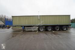 Semitrailer platta Nooteboom 4 AXLE FLATBED EXTENDABLE 34,70M