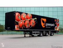 Trailer bakwagen Draco TZB 342 VAN BEURDEN GEISOLEERD WIDE SPREAD 2 X STUUR AS