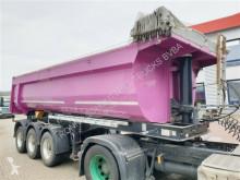 Langendorf tipper semi-trailer SKS-HS 24/28 Stahlmulde ca. 26m³ SKS-HS 24/28 Stahlmulde ca. 26m³, Liftachse, E-Verdeck