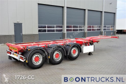 D-TEC FLEXITRAILER | 2x20-30-40-45ft HC * LHV * DISC BRAKES * APK 12-2021 semi-trailer used container
