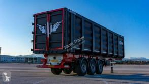 Semi reboque Nova 60 cbm scrap tipper trailer 2021 basculante para ferragem novo