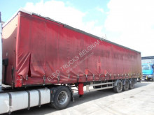 Samro tautliner semi-trailer S338DHPF (MERCEDES AXLES / FRENCH TRAILER)