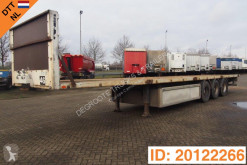 Trouillet Plateau semi-trailer used flatbed