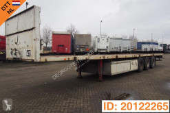 Trailer Trouillet Plateau tweedehands platte bak