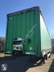 Krone semi-trailer used flatbed
