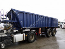 Trailer Benalu aluminium tweedehands bouwkipper