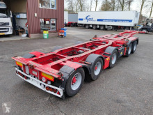 Broshuis 2 CONnect - 2AKCC + 3AKCC - 5-assen SAF - Drumbrakes - LED lights (O488) semi-trailer used container