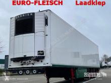 Semi reboque Schmitz Cargobull Tiefkühler Fleischhang Ladebordwand isotérmico usado