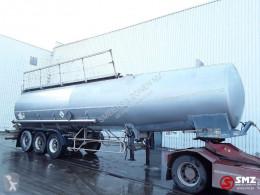 Trailor tanker semi-trailer Oplegger lames/39500L