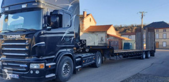 Samro heavy equipment transport semi-trailer PORTE ENGINS