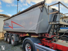 Sættevogn tippelad offentlige arbejder Schmitz Cargobull SKI SKI 24 SL 7.2 27 m³ Alu Mulde Liftachse Trommelbremsen Alu Felgen 5.1 t Leerg