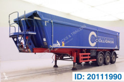 Stas 40 cub in alu semi-trailer used tipper