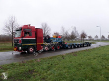 Scheuerle Flat Combi MC 2+7 axle modular trailer semi-trailer used heavy equipment transport