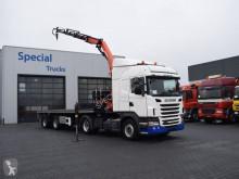 Scania G440 Highline / (2010) + Royen Oplegger + Palfinger PK13001 K (2011) altro semirimorchio usato