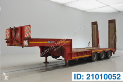 Gheysen et verpoort Low bed trailer semi-trailer used heavy equipment transport