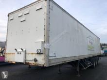 Полуприцеп Trouillet SR 3 ESSIEUX фургон фургон с покрытием polyfond б/у