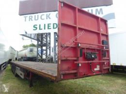 Pacton flatbed semi-trailer T3-001, Hardwood, 2 x 20 1 x 40, Discbrakes, ABS , TUV 07/2021 Container Verschluss, Twistlock