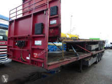 Pacton flatbed semi-trailer T3-001, Hardwood, 2 x 20 1 x 40, Discbrakes, ABS , TUV 08/2021 Container Verschluss
