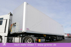نصف مقطورة عربة مقفلة Schmitz Cargobull SKO 24/ DOPPELSTOCK / ZURRLEISTE /FP25 LIFT TOP