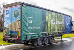 Van Hool box semi-trailer VANHOOL BACHE