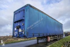 نصف مقطورة Samro BACHE + FOURGON عربة مقفلة مستعمل