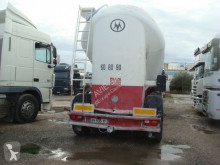 Spitzer powder tanker semi-trailer CITERNE PULVE 38T 39M3 SUSPENSIONS AIR FREINS A DISQUES