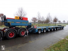 Scheuerle heavy equipment transport semi-trailer Intercombi MC 2+7