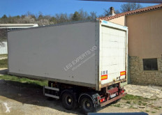 Asca box semi-trailer bitrain fourgon tireuse